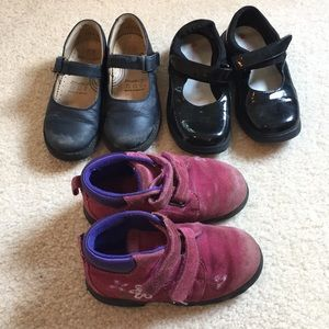 Bundle of girls shoes size 9.5